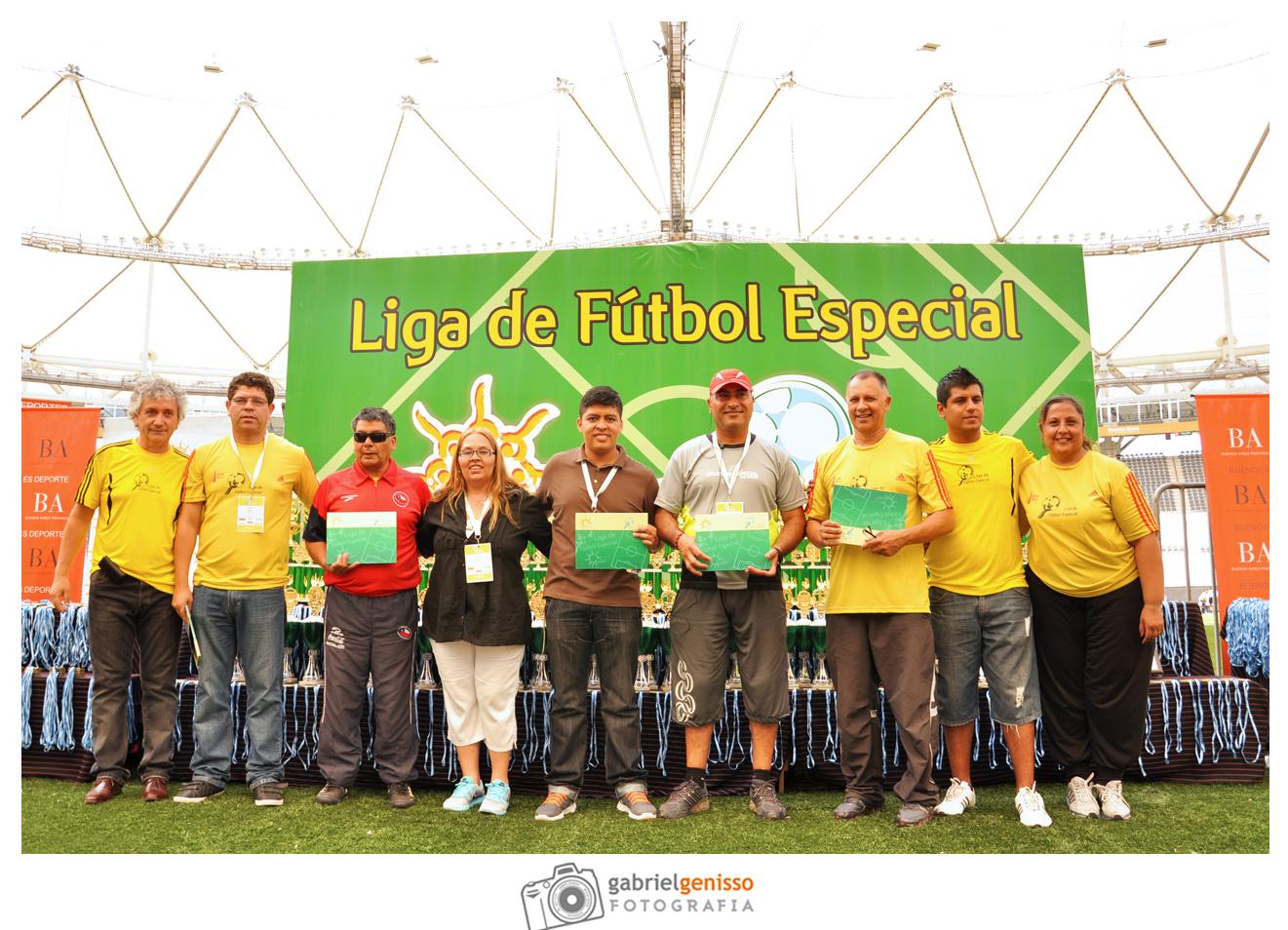 Referentes Latinoamericanos Liga de Futbol Especial