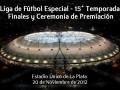 premiación liga de fútbol especial