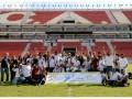 Voluntarios en las Finales de la Liga de Fútbol Especial 2011